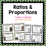 Ratio and Proportion task cards Pirates
