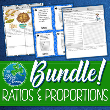 Ratios and Proportional Reasoning Bundle - 7.RP.1, 7.RP.2