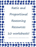 Ratio and Proportional Reasoning Resources: Homework/Revie