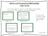 Ratio and Proportional Relationships-Task Cards