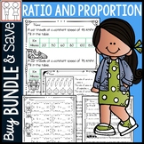 BUNDLE: Ratio and Proportions Activities