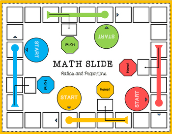 Ratio and Proportions Board Game