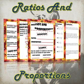 Ratio and Proportions (Guided Notes and Practice)