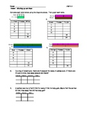 Ratio and Proportions Unit - (9 Homeworks/Classworks  and a Quiz)