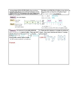 Ratio and Rate Problems