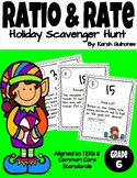 Ratio and Rate Scavenger Hunt - Christmas/Holiday