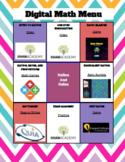 Ratio and Rates - Digital Choice Board - 6th grade math DI