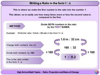 Ratio for High School Math