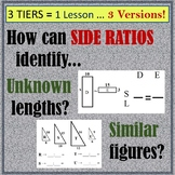 Ratio of Sides (3 versions!)