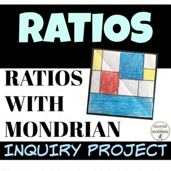 Ratios project based learning with EDITABLE rubric UPDATED