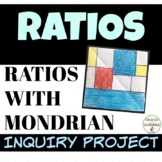 Ratios project based learning with EDITABLE rubric