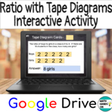 Ratio with Tape Diagrams- Interactive Activity with Google Drive