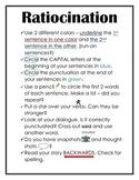 Ratiocination Notes