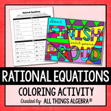 Rational Equations Coloring Activity