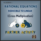 Rational Equations Reducible to Linear - Partner Activity