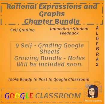Rational Equations and Expressions - Bundle - Google Classroom Ready
