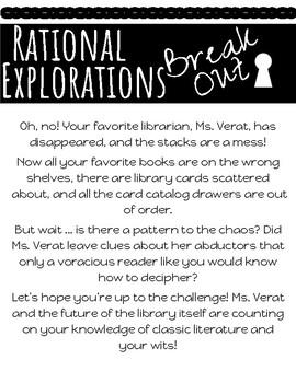 Rational Explorations Escape Room/ Break Out
