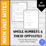 Rational Explorations Unit Notes