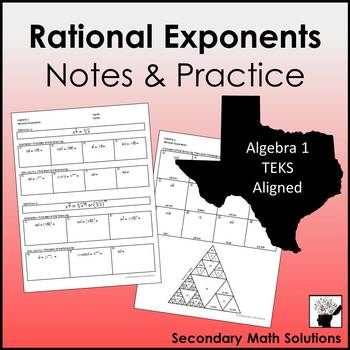 Rational Exponents Coloring Activity