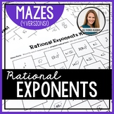 Rational Exponents Mazes