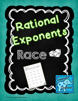 Rational Exponents Race Game