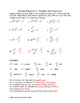 Rational Exponents - Simplifying with Properties