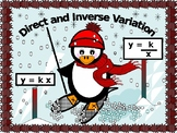 Algebra Power point:  Direct and Inverse Variation with GUIDED NOTES