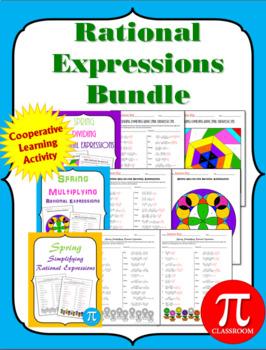 Rational Expressions Activities  Bundle