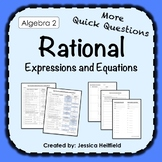 Rational Expressions Activity FREE: Fix Common Mistakes!