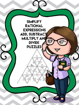Rational Expressions All Operations PUZZLE