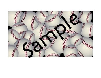 Rational Expressions Baseball Review Game