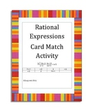 Rational Expressions Factor Card Match Activity