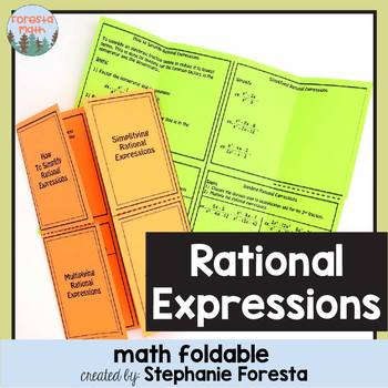 Rational Expressions Foldable