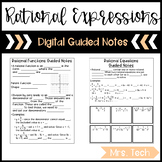 Rational Expressions, Function, and Equations Guided Notes