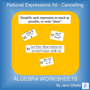 Rational Expressions IId