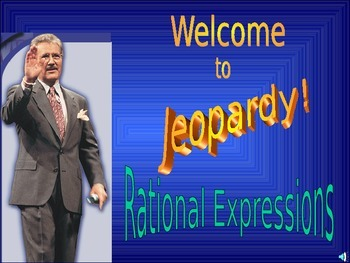 Rational Expressions Jeopardy
