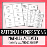 Rational Expressions Math Lib