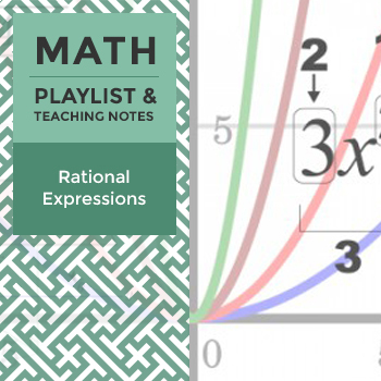 Rational Expressions - Playlist and Teaching Notes