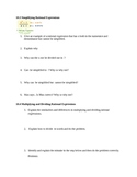 Rational Expressions Writing Prompts