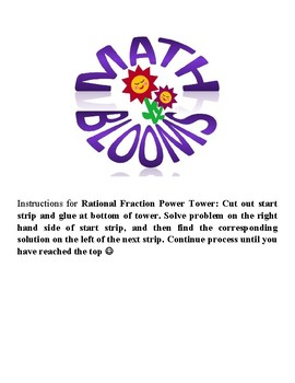 Rational Fraction Power Tower