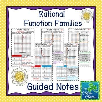 Rational  Function Families - Guided Notes