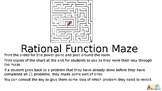 Rational Function Maze