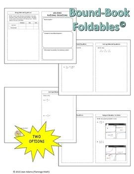 Algebra 2: Solving Rational Equations