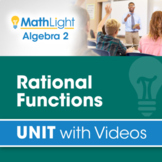 Rational Functions   Algebra 2 unit with Videos + Activity!