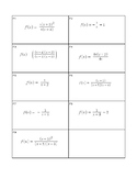 Rational Functions Card Sort
