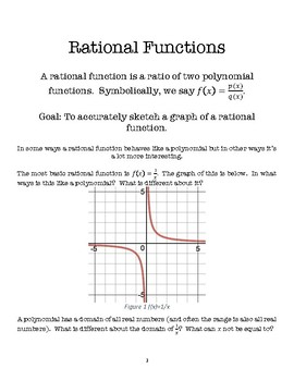 Rational Functions Lesson