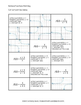 Rational Functions Matching