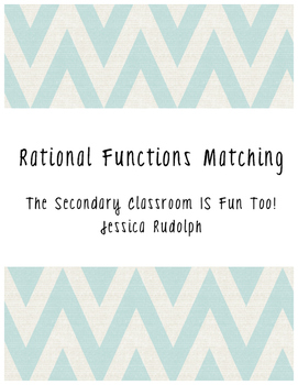 Rational Functions Matching Cards