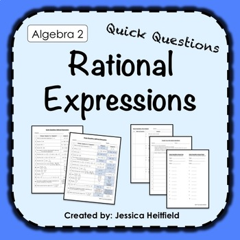 Rational Expressions Activity: Fix Common Mistakes!