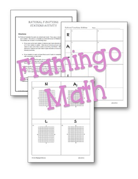 Algebra 2: Rational Functions Stations Activity